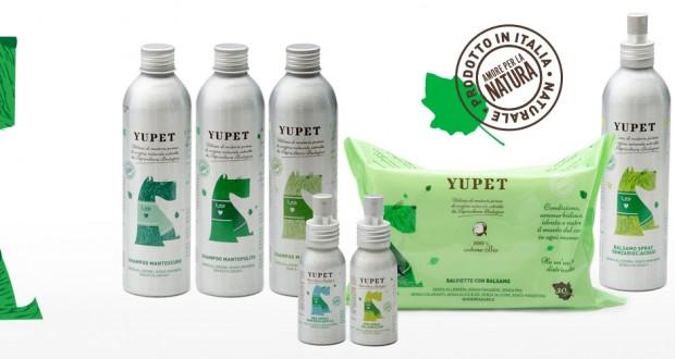 YUPET, la linea biologica per cani.
