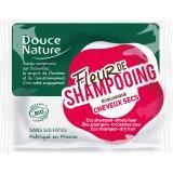 Douce Nature Fiore di Shampoo - Shampoo Solido per Capelli Secchi