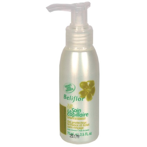 Gel protettivo Brillanza e Lucentezza per capelli secchi, fragili senza risciacquo, Beliflor