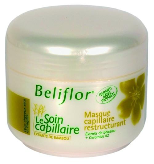 Maschera Capillare Ristrutturante, trattamento intensivo capelli secchi e devitalizzati, 250ml Beliflor