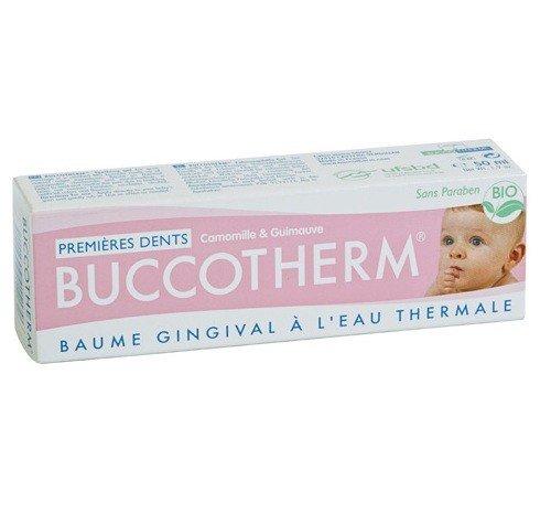 Buccotherm Baume gengive Bio primi denti con Eau Thermale de Castéra -Verduzan 50 ml